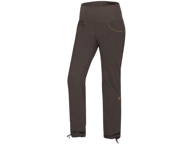 Ocun Noya Pantalones Mujer, brown/yellow